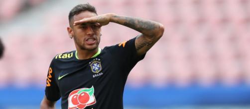 Neymar é criticado por encontro com famosos (Lucas Figueiredo/CBF)