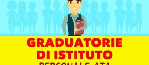 Pubblicazione delle graduatorie Ata.