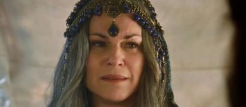 Sara é sequestrada em 'Gênesis' (Reprodução/Record TV)