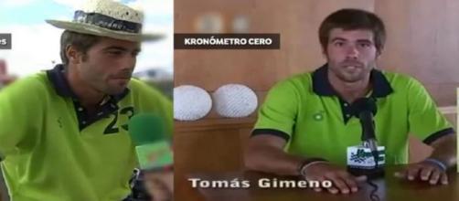Tomás Gimeno, en la entrevista publicada (@espejopublico)