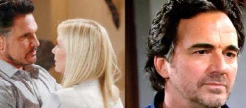 Beautiful, anticipazioni: Quinn si vendica di Brooke mostrando a tutti il video del bacio con Bill.