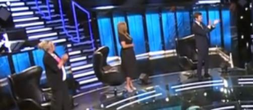 Belén Esteban fue la única de los colaboradores no que aplaudió (Telecinco)