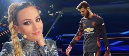 Edurne, agredida en redes sociales por el desempeño futbolístico de su pareja David De Gea. (Instagram @edurnity y @d_degeaofficial)
