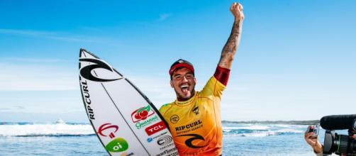 Gabriel Medina conquista etapa da Austrália e já figura entre os dez maiores vencedores do circuito mundial (Matt Dunbar/World Surrf League)