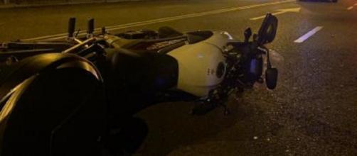 Imagen de archivo de un accidente de moto. (Emergencias Madrid)