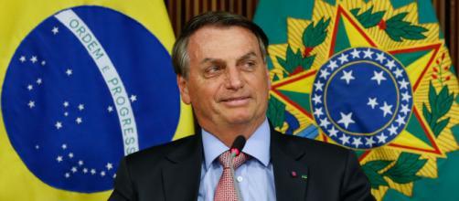 Jair Bolsonaro tem viajado pelo país discursando em tom de campanha política (Alan Santos/PR)