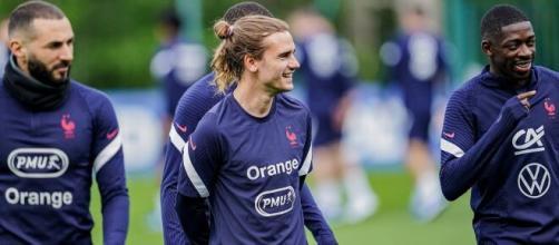 Les joueurs de l'Équipe de France savent combien ils gagneront s'ils remportent l'Euro. (Photo : Twitter Équipe de France)