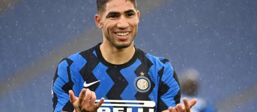 Inter: il laterale Achraf Hakimi.