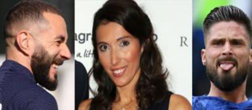 La femme de Giroud lassée des rumeurs autour de son mari et de Benzema. (crédit Instagram comptes fans Jennifer Giroud, Benzema, Olivier Giroud)
