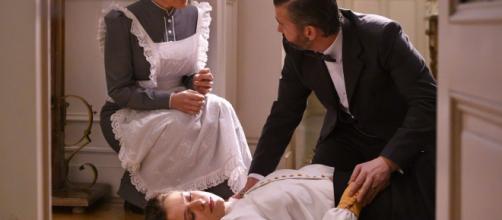 Una vita, anticipazioni spagnole: Genoveva rimane incosciente dopo la lettera di Santiago.