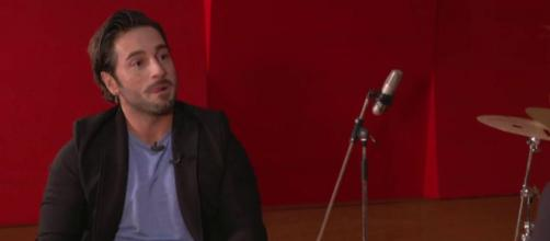 Bustamante durante su entrevista donde denunció la crispación con la que vivimos (@laSextaTV)