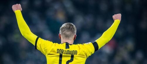 Erling Haaland, punta del Borussia Dortmund.