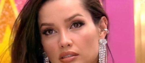 Juliette é cotada como a vencedora do 'BBB21'. (Reprodução/TV Globo)