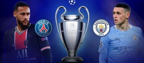 Manchester City-PSG, semifinale di Champions.