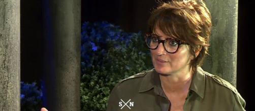 Silvia Abril durante su alegato defendiendo la libertad de expresión (@laSextaTV)