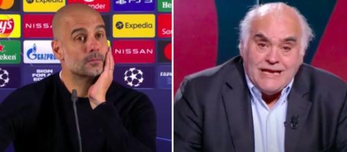 Gilles Favard critique Pep Guardiola - Photo capture d'écran vidéos Youtube