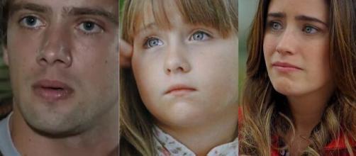 Júlia ficará arrasada ao descobrir que terá de viver apenas com os pais em 'A Vida da Gente'. (Fotomontagem)