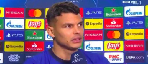Les mots forts de Thiago Silva pour le PSG après la victoire de Chelsea en Ligue des Champions - Photo capture d'écran vidéo RMC