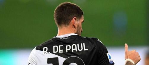 Rodrigo De Paul, centrocampista dell'Udinese.