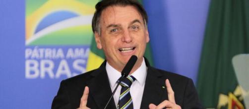 Bolsonaro mostra otimismo com momento econômico do Brasil. (Arquivo Blasting News)