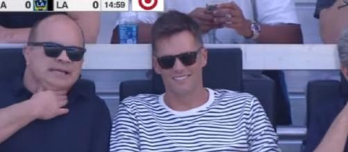 Brady recently attended Inter Miami's opening match (Image source: ESPN FC/YouTube)