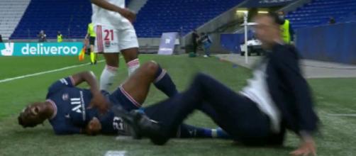 Buchanan fauche Baltimore qui fait tomber son entraîneur (Photo : video Canal+)