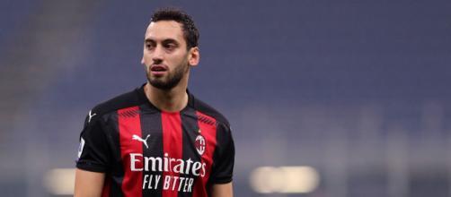 Calhanoglu, giocatore del Milan.
