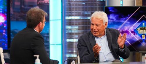 Las declaraciones del ex presidente del Gobierno en 'El Hormiguero' a favor de los indultos se han vuelto virales (Twitter; @elhormiguero)