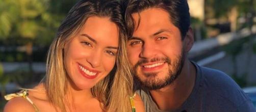 Lucas Veloso e Géssica Muniz anunciaram chegada da filha (Arquivo Blasting News)