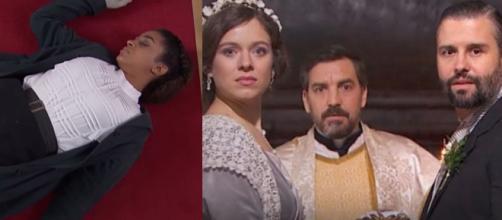 Una vita, anticipazioni Spagna: Marcia ha un malore dopo aver visto Felipe sposare Genoveva.