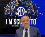 Beppe Marotta ha escluso un suo possibile ritorno alla Juventus.