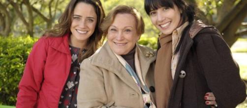 Ana, Iná e Manuela em 'A Vida da Gente'. (Divulgação/Rede Globo)