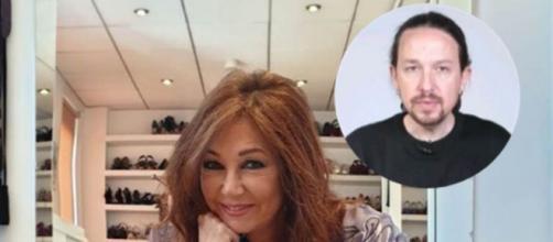 Ana Rosa lanza un dardo a Iglesias sobre el tema de sus guardaespaldas (Collage Instagram)