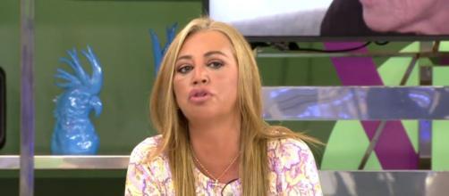 Belén Esteban estaría molesta con el gobierno por ser persona de riesgo (Telecinco)