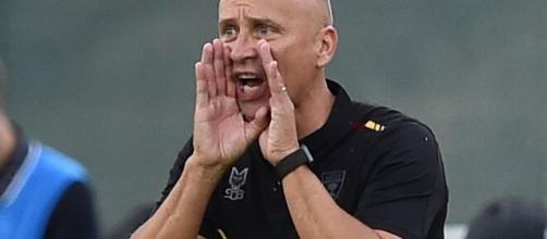 Eugenio Corini, allenatore del Lecce.