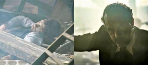 Il Segreto trame Spagna: Ignacio e Pablo restano coinvolti nell'esplosione della fabbrica.