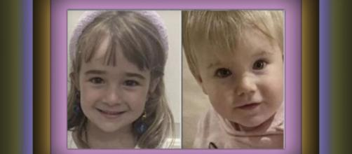 Imagen de los rostros de las niñas desaparecidas en Tenerife, Olivia y Anna Gimeno Zimmermman. (Twitter: @telecincoes)