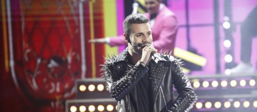 In foto Raffaele Renda, il cantante di Amici 20.