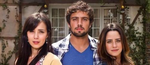 Manu, Rodrigo e Ana em 'A Vida da Gente'. (Divulgação/Rede Globo)