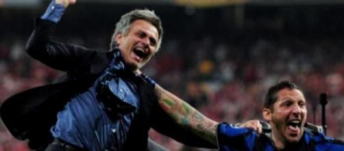 Nella foto Mourinho e Materazzi.