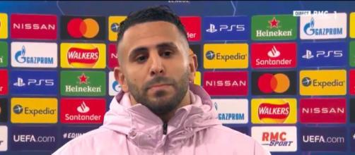 Riyad Mahrez dézingue l'attitude des joueurs du PSG - Photo capture d'écran Vidéo RMC