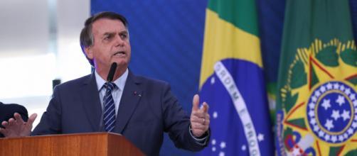 Ainda no evento, Bolsonaro ameaçou emitir um decreto a respeito da 'liberdade' do cidadão (Marcos Corrêa/PR)