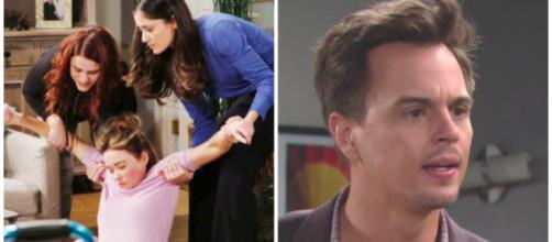 Beautiful, spoiler Usa: Sally rapisce Flo e poi tenta di farsi mettere incinta da Wyatt.