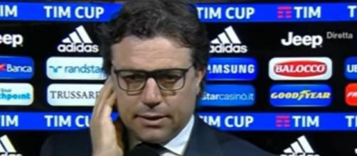 Cristiano Giuntoli, direttore sportivo del Napoli.