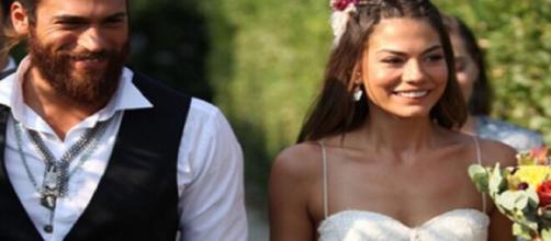 DayDreamer, puntate finali: Can e Sanem si sposano e diventano genitori.