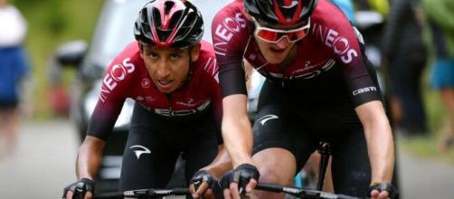 Egan Bernal corre il Giro d'Italia per la prima volta.