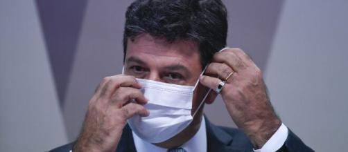 Mandetta foi à comissão parlamentar de inquérito (Edilson Rodrigues/Agência Senado)