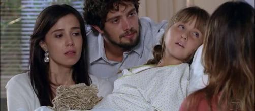 Manu, Rodrigo, Júlia e Ana em 'A Vida da Gente' (Reprodução/TV Globo)