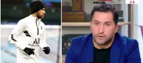 Nabil Djellit dézingue le cas Neymar - Photo capture d'écran vidéo Twitter et Instagram Neymar