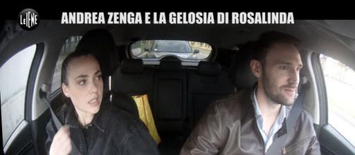 Rosalinda Cannavò vittima di uno scherzo di Andrea Zenga, lei: 'A calci ti mando fuori'.